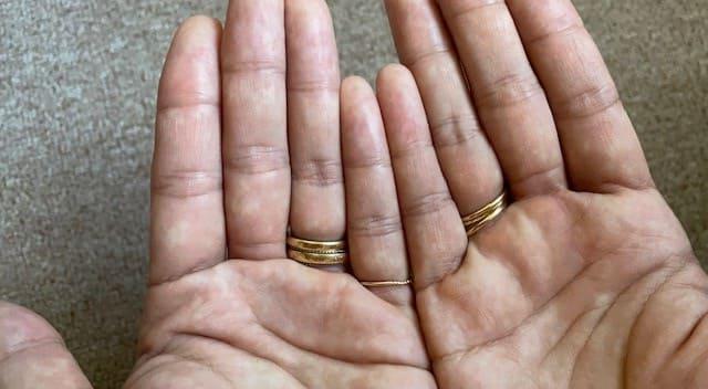 エティーク ムラシャンを洗い流した手